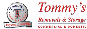 Tommy's Removals Logo